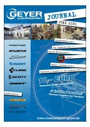 journal juni 2010 -  Zweiradsport Geyer