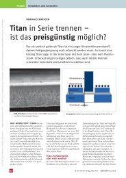 Titan in Serie trennen – ist das preisgünstig ... - energiespektrum