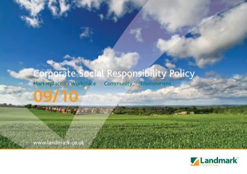 Corporate Social Responsibility Policy - Landmark
