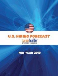 U.S. Hiring forecaSt - Icbdr