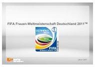 Angebot FIFA Frauen-Weltmeisterschaft Deutschland 2011 - ZDF ...