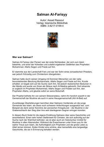 Salman Al-Farisyy\374 - Way to Allah