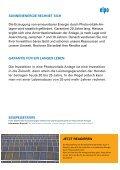 """ELPO_Photovoltaik """"Garantierte Rendite durch Sonnenenergie"""" - Seite 7"""