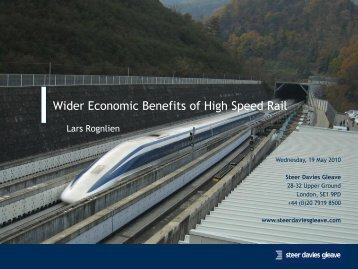 [Wider Economic Benefits of transport]