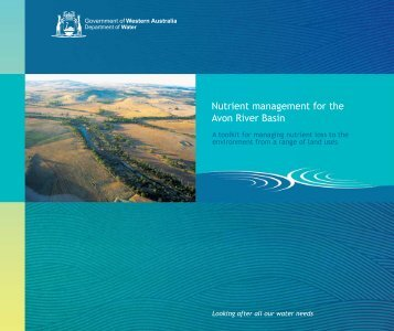 Nutrient management for the Avon River Basin - Department of Water