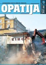 LIST GRADA OPATIJE • BROJ 150 • GODINA XVII ... - Opatija.net
