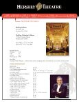 Promoter's Guide - Hershey Theatre - Page 4