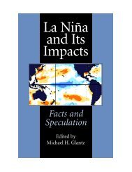 La Niña and its impacts: Facts and speculation - United Nations ...