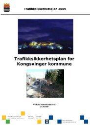 Trafikksikkerhetsplanen - Kongsvinger Kommune