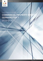 Commercial property market Germany / Top 7  2014