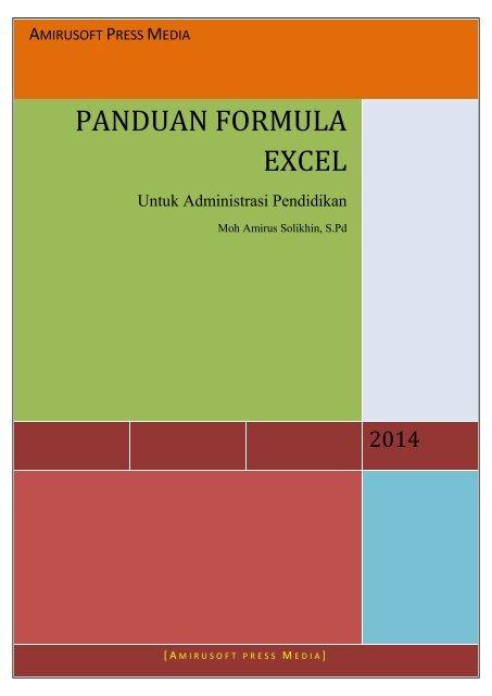 Buku Excel Untuk Administras Pendidikan #1
