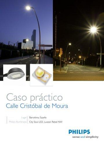 Alumbrado Calle Cristóbal de Moura - Philips