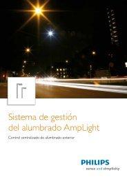 Sistema de gestión del alumbrado AmpLight - Philips
