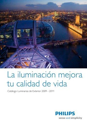Luminarias Exterior - Philips