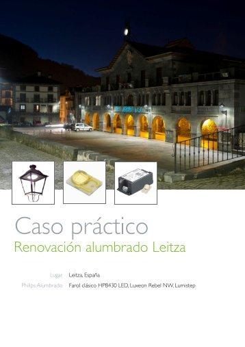 Caso Práctico de Leitza - Philips