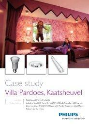 Case study Villa Pardoes - Philips Lighting