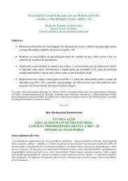 "Intercâmbio Virtual Rio+20 - FME ""Crise Capitalista, Justiça ..."