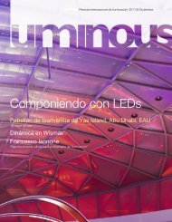 Luminous - Diciembre 2011 - Philips Lighting
