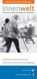 Information für Betroffene und Angehörige Depression bei älteren ...