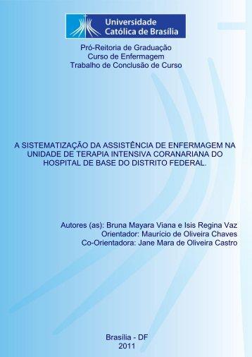 Bruna Mayara Viana e Isis Regina Vaz.pdf - Universidade Católica ...