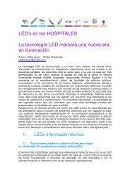 LED's en los HOSPITALES La tecnología LED marcará una ... - Philips