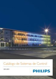 Catálogo de Sistemas de Control - Philips Lighting