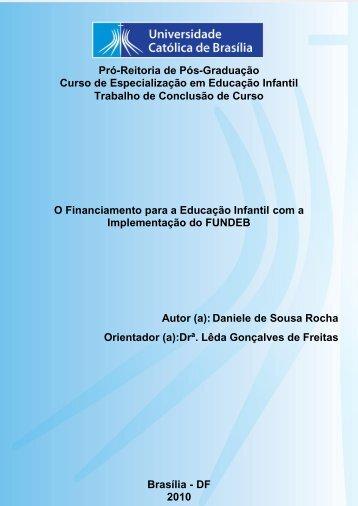 Pró-Reitoria de Pós-Graduação Curso de Especialização em ...