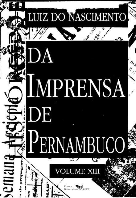 a78df03e2a7 Volume 13 - Fundação Joaquim Nabuco
