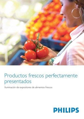 Productos frescos perfectamente presentados - Philips