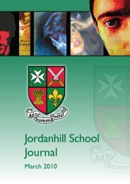 Jordanhill School Journal