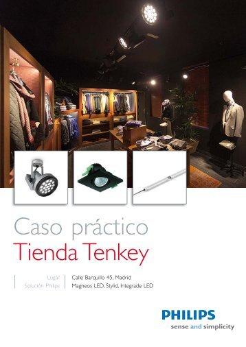 Caso práctico Tienda Tenkey - Philips