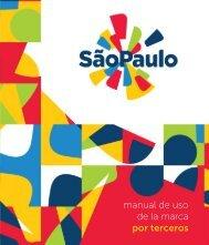 manual de uso de la marca por terceros - São Paulo Turismo