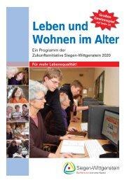 Leben und Wohnen im Alter - Zukunftsinitiative Siegen-Wittgenstein ...