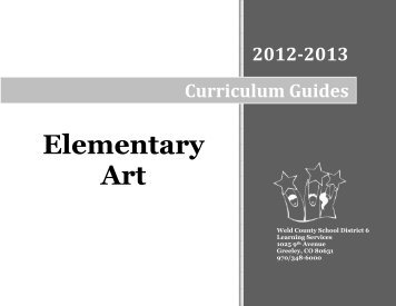 Curriculum Map 2002- 2003 Third Grade Elementary Art