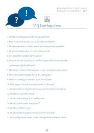 FAQ Earthquakes