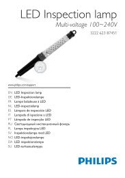 LED Inspection lamp - Philips