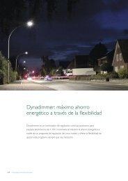 Dynadimmer: máximo ahorro energético a través ... - Philips Lighting