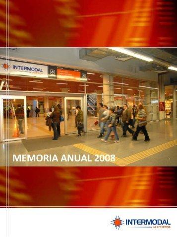 memoria_2008 - Intermodal La Cisterna