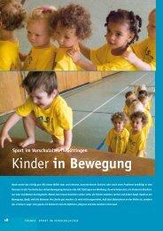 Kinder in Bewegung - Göttinger Sport und Freizeit GmbH & Co. KG