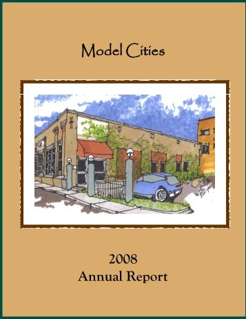 Model Cities 2008 Annual Report
