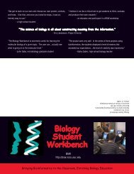 Biology Student Workbench - University of Illinois at Urbana ...