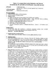 Zápis z 21. jednání Rady města Rokytnice nad Jizerou, konaného ...