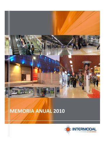 memoria_2010 - Intermodal La Cisterna