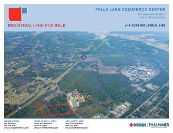 FALLS LAKE COMMERCE CENTER - REApplications