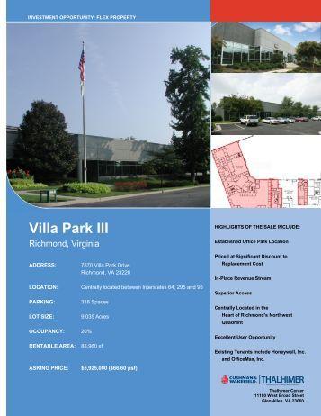 Villa Park III - Thalhimer