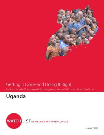 Implementing the MRM in Uganda - Watchlist