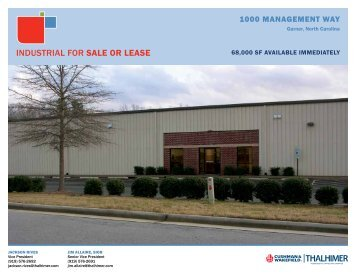 INDUSTRIAL FoR sale or lease - REApplications