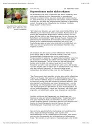 Springer Professional Media, Bereich Medizin - APA-Artikel