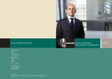 frank müller, commerzbank - Front Arena Online