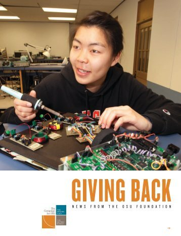 Giving Back - OSU Alumni Association